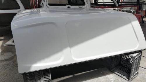 2016 Isuzu E/cab Blank side SA Canopy